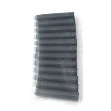 Ipenstore 12 Standard International 1-1/2 Fountain Pen Ink Cartridges, Black