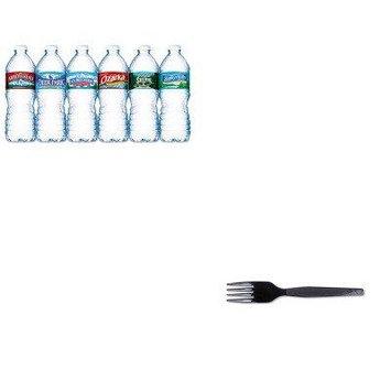 KITDXEFM507NLE101243 - Value Kit - Dixie Plastic Cutlery (DXEFM507) and Nestle Bottled Spring Water (NLE101243)