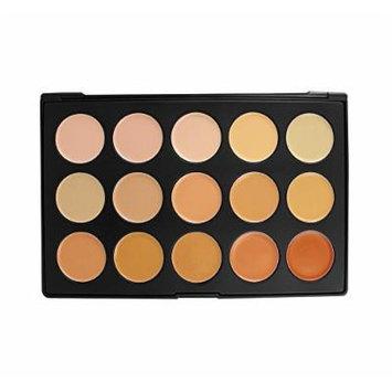 Morphe 15CON - 15 color Concealer Palette [Professional Make-up]