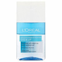 L'Oréal Paris Dermo-Expertise Absolute Eye & Lip Make Up Remover (125ml) - Pack of 2