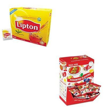 KITLIP291OFX72512 - Value Kit - JELLY BELLY CANDY COMPANY Jelly Beans (OFX72512) and Lipton Tea Bags (LIP291)