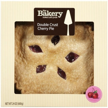 The Bakery at Walmart Double Crust Cherry Pie, 24 oz