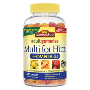 Nature Made Men's Multivitamin + Omega-3 Gummies - 150ct