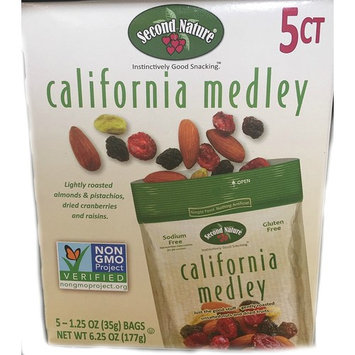 Second Nature California Medley 1.5 oz 5 Count
