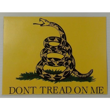 BMBA Signs and Apparel Don't Tread On Me Car Magnet - Two Signs, 6.75