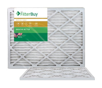 AFB Gold MERV 11 18x25x1 Pleated AC Furnace Air Filter. Filters. 100% produced in the USA. (Pack of 2)