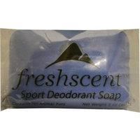 Fresh Scents Freshscent 2133267 5 oz Sport Deodorant Soap - 72 Bar per Case