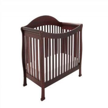 AFG Baby Furniture 4588C Athena Allie Convertible Crib in Cherry