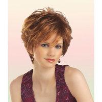 Tony of Beverly Womens Synthetic Wig ''Aubrey''-4: Dark Brown