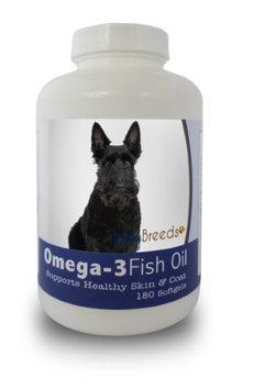 Healthy Breeds 840235142027 Scottish Terrier Omega-3 Fish Oil Softgels - 180 count