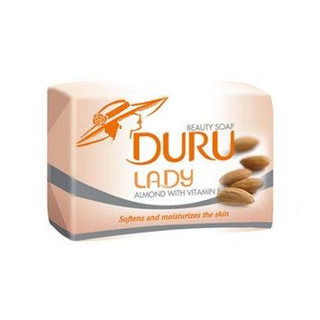 Duru Lady Soap Almond & Vitamin E 140g 5oz Pack of 6