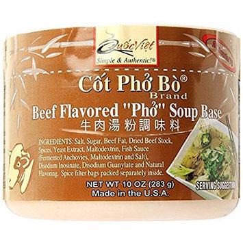 Quoc Viet Foods Beef Flavored PHO Soup Base, 10 oz. Jar, 1 Unit