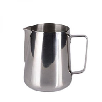 HULISEN 5 Oz. (150ml) Stainless Steel Espresso Coffee Pitcher Barista Craft Coffee Latte Milk Frothing Jug (3 Sizes Optional) (Small)