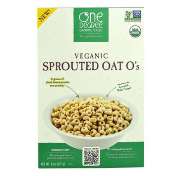 One Degree Organic Foods Veganic Sprouted Oat O's 8 oz