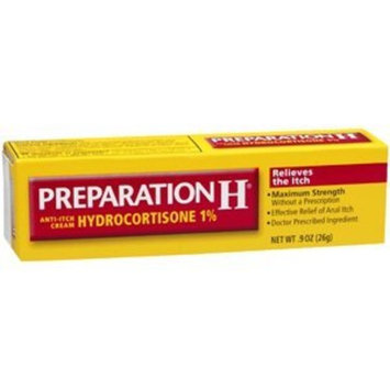 SPECIAL PACK OF 5 - PREPARATION H CREAM MAX 1% .9oz by PFIZER CONS HEALTHCARE