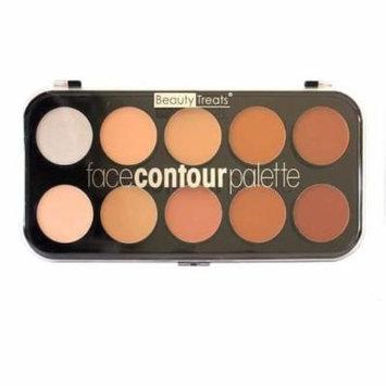 (3 Pack) BEAUTY TREATS Face Contour Palette - 10 Shades