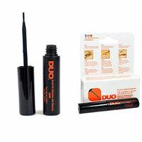 Duo 50 Pcs of Brush On Striplash Adhesive Dark Tone 5g