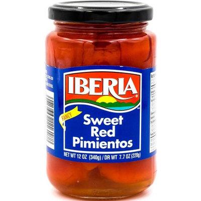 Iberia Sweet Red Pimientos, Fancy, 12 Oz