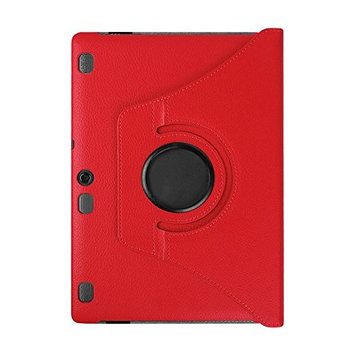 For Lenovo Tab 2 A10-70F TOOPOOT Leather Flip Stand Case For Lenovo Tab 2 A10-70F (red)