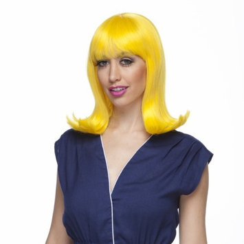 Characters Peggy Sue Synthetic Wig - Yellow