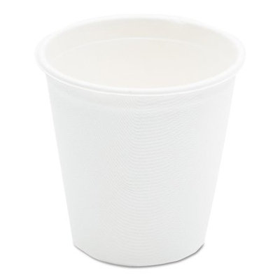 NatureHouse Bagasse Cup, 12oz, 50/Pack, White