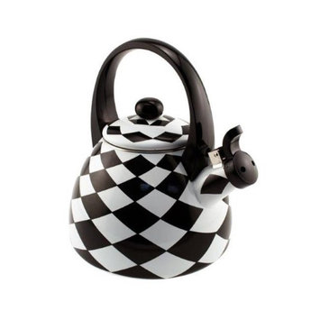 Supreme Housewares 71512 Black Diamond Whistling Tea Kettle - Pack of 6