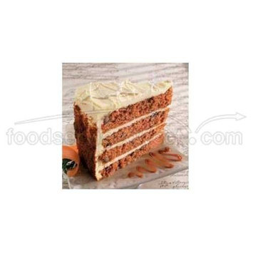 Sweet Street The Big Line Four Layer High Carrot Cake, 14 Slice -- 2 per case.
