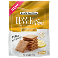Snyders-lance Snack Factory Dessert Thins, Lemon Tart, 5 Oz