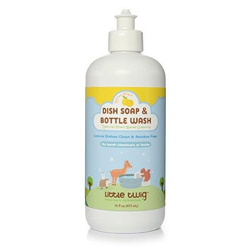 Little Twig LTWG-DSLF16-06 16 oz Dish Soap & Bottle Wash Lemon Fresh - Pack of 6