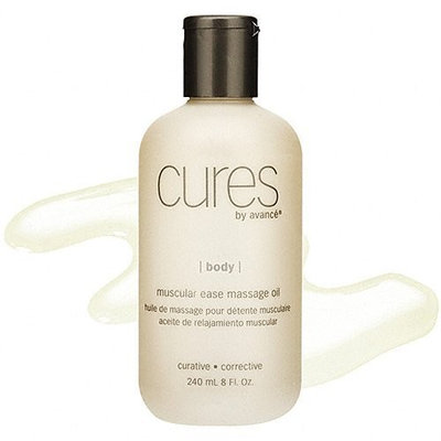cures by avancé Muscular Ease Massage Oil