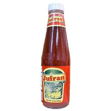 Jufran Banana Sauce, 12 oz x 2 bottles