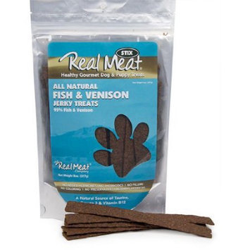 Country Pet Naturals CountryPet Naturals Fish & Venison Jerky Strips, 8 oz.