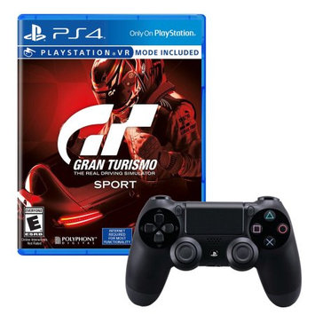 Sony Dualshock 4 Controller With Grand Turismo Game