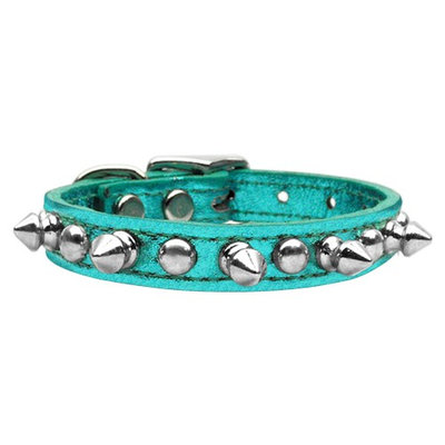 Mirage Pet Products 8313 14TqM Metallic Chaser Turquoise MTL 14