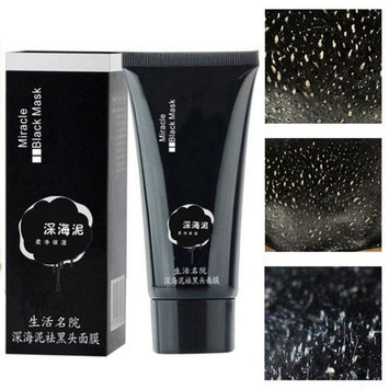 DZT1968 NEW Black Deep Cleansing Purifying Blackhead Pore Removal Peel-off Facial Mask for strawberry nose