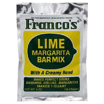 Lime Margarita Bar Cocktail Mix - Case of 12