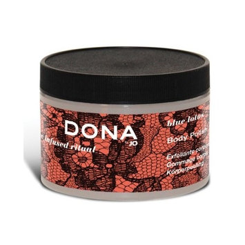 System Jo International DONA by JO Body Polish 9.5 oz - Blue Lotus (package of 7)
