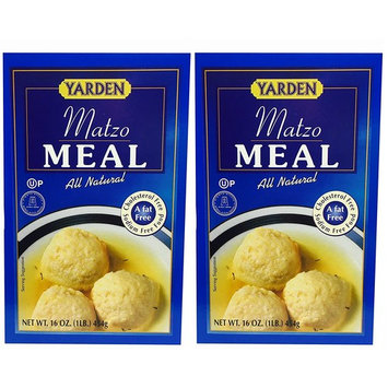 Yarden Matzo Meal Kosher for Passover 16 oz 2 Pack