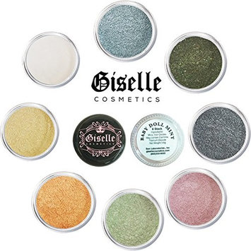 Mineral Makeup By Giselle Baby Doll Mint 8 Stack Eyeshadow