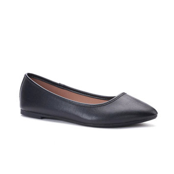 SO® Hitide Women's Pointed Toe Flats