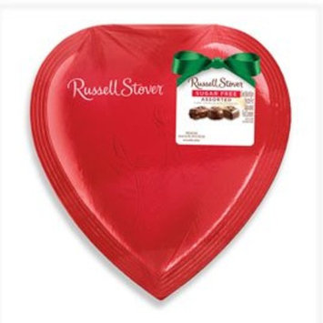 Russell Stover Sugar Free Assorted Chocolate Candies Heart, 4 oz. Heart
