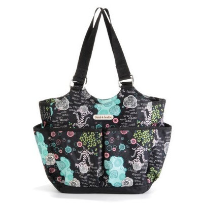 timi & leslie Tag-A-Long Tote Diaper Bag, Aiko