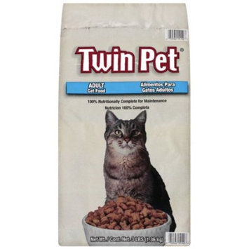 Twin pet complete formula dry cat food, 3 lb