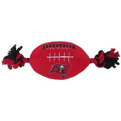 DoggieNation Tampa Bay Buccaneers Plush Dog Toy 0.5 lb