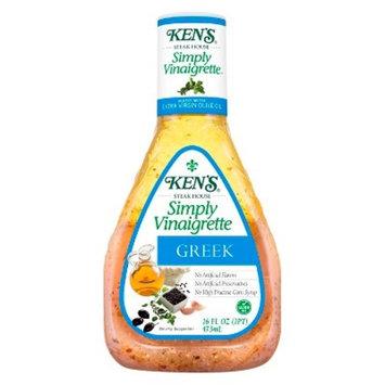 Ken's Steak House® Simply Vinaigrette Greek Salad Dressing - 16 fl oz