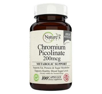 Nature's Potent - Chromium Picolinate 200 mcg, 100 Capsules