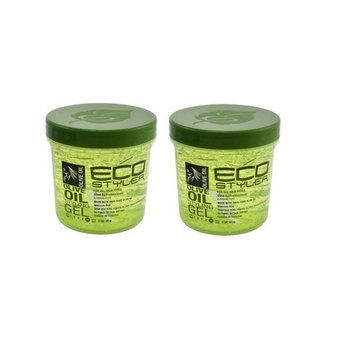 Eco Professional Styling Gel Olive Oil,16 Ounce(pack of 2)