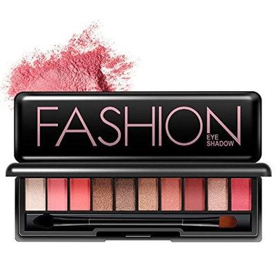 Alonea 10 Colors Cosmetic Powder Smoky Eyeshadow Palette Makeup Set