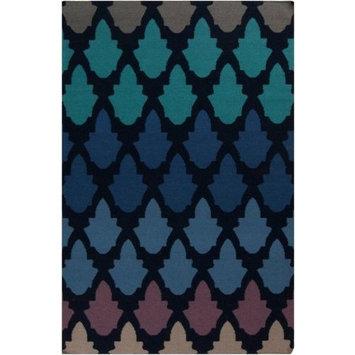 Surya Frontier Rug, Federal Blue, 2' x 3'