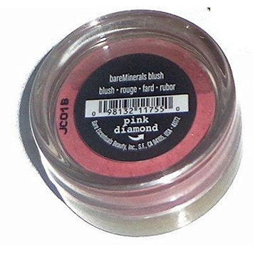 (PACK OF 5) Bare Minerals/Bare Escentuals PINK DIAMOND Blush Makeup. SHEER PINK SHEEN. ideal for ALL Skin Types. PURE BLEND OF 100% NATURAL MINERALS! (Pack of 5 Compacts.02oz Each) : Beauty